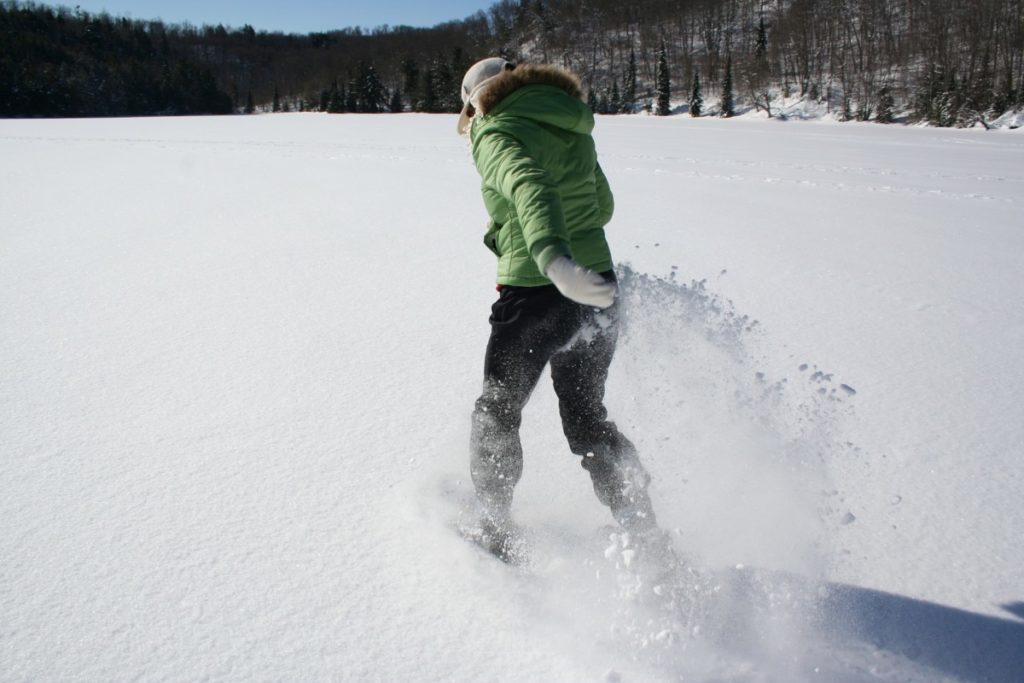 Girl PowHER Snowshoe Outing