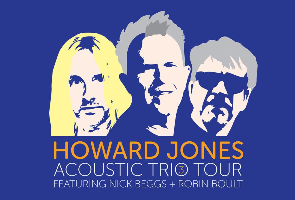 Howard Jones Acoustic Trio Tour
